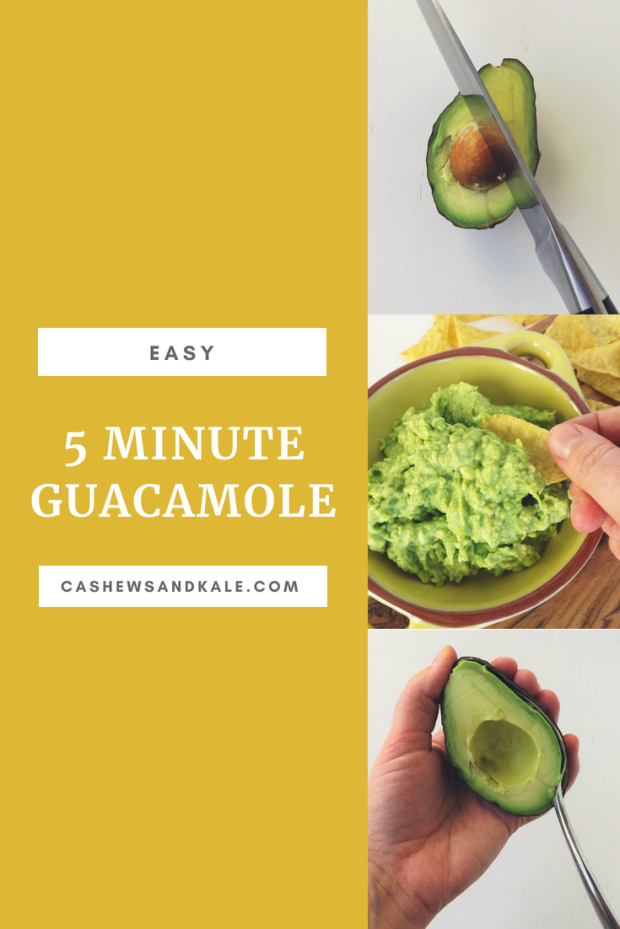 Easy 5-minute Guacamole
